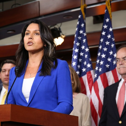 LISTEN: Rep. Tulsi Gabbard Hosts Live Telephone Townhall on Securing America's Elections Act