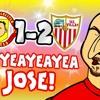 HEYEAYEAYEA JOSE! What's going on?🤣 (Man Utd vs Sevilla 1-2 Song Parody Goals Highlights)