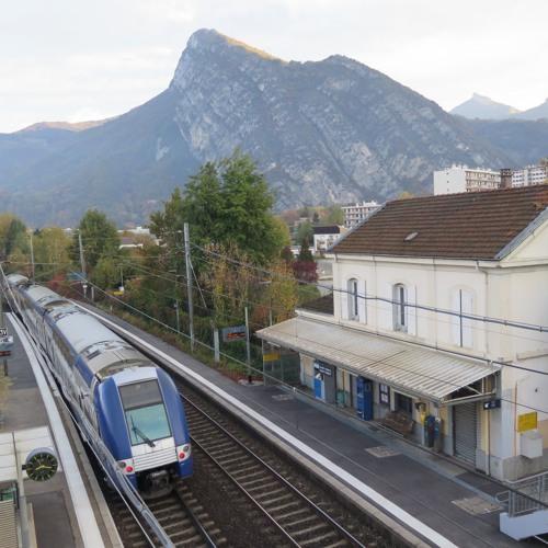 Yves Gimbert président de l'association des usagers de la ligne Grenoble-Valence