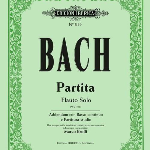 Partita BWV1013 with Basso Continuo