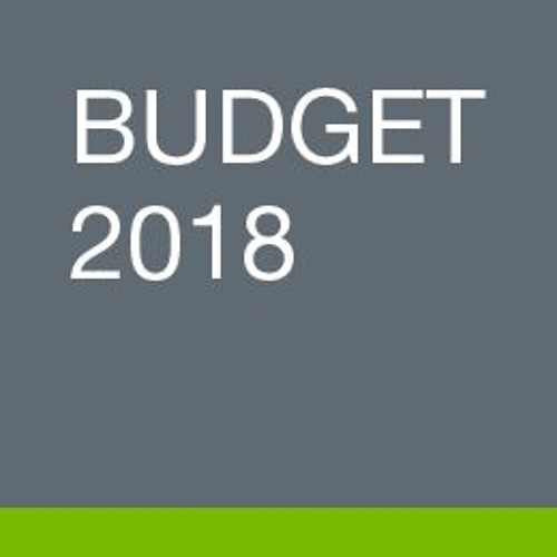 Budget 2018 news conference with Minister Ceci – March 22, 2018