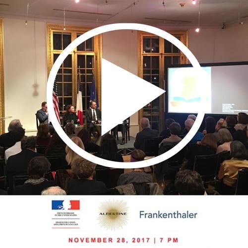 French Embassy Event HELEN FRANKENTHALER Saluting France