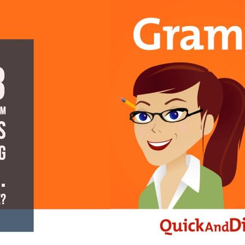 Grammar Girl #613. Dictionary.com Adds Emoji. 'Aw' or 'Awe'?