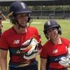 Tammy Beaumont & Nat Sciver - England Women v Australia Women