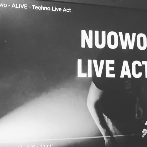 NUOWO - Alive - Techno Live Act [Preview]