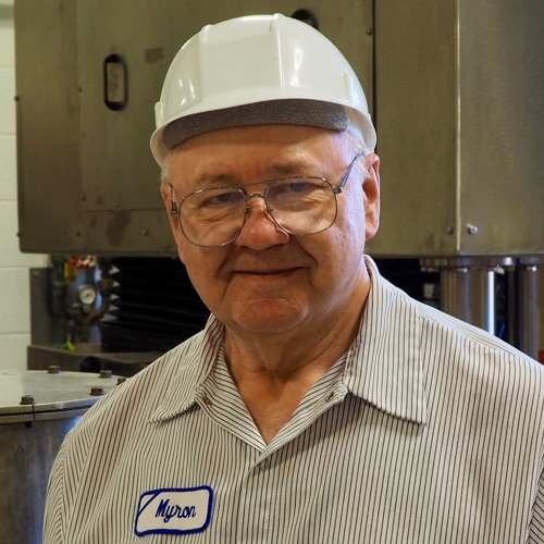 53 years working at General Mills - Myron Uecker