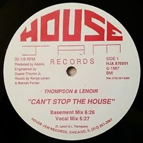 CAN'T STOP THE HOUSE (corky TRAXMAN Strong's Westside Boogie Rework)