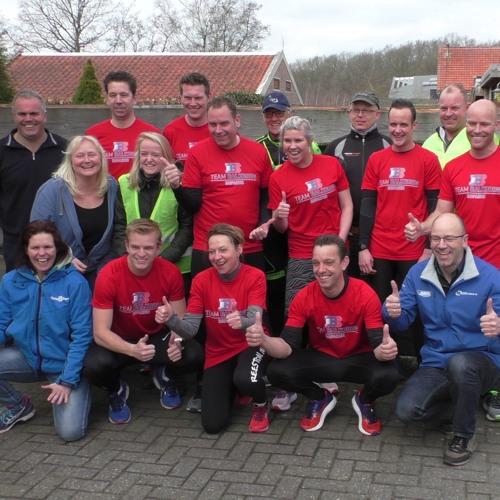 Roparun Team Balkbrug oefent voor de grote run