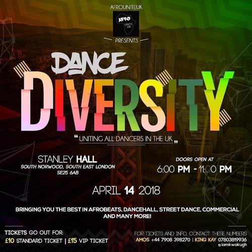 AfroUnite 'Dance Diversity' Afrobeat Dance Promo Mix