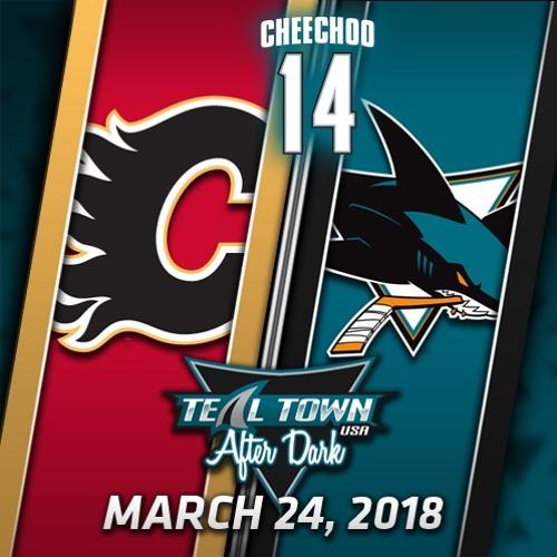 Teal Town USA After Dark (Postgame) Sharks vs Flames -  3-24-2018