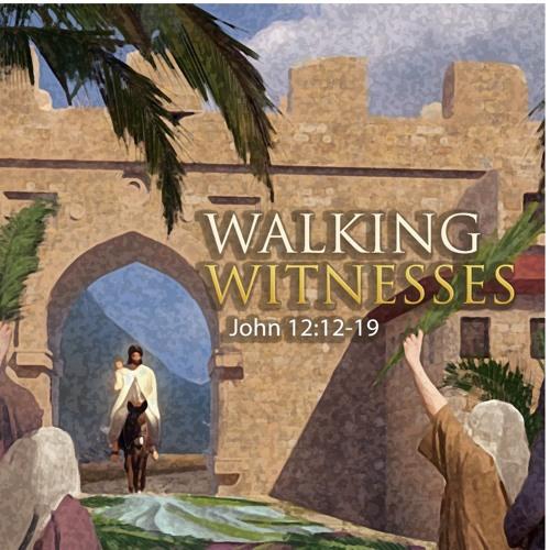 "3-25-2018 ""Walking Witnesses"" Rev. Jennie Barber"