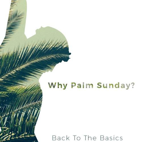 Why Palm Sunday? - Back To The Basics Pt. 11 (Palm Sunday 2018)