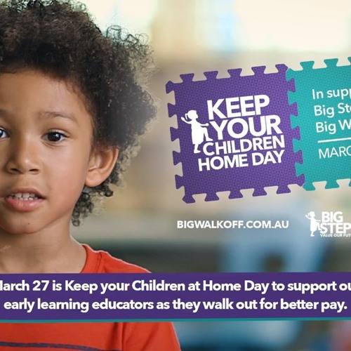 National day of action on early childhood educator wages