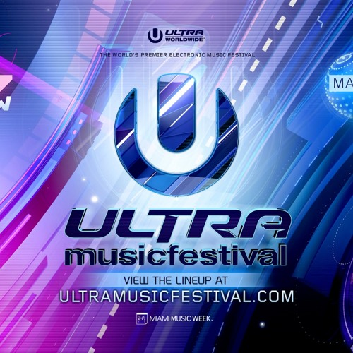 David Guetta - live at Ultra Music Festival 2018 (Miami) - 25-Mar-2018