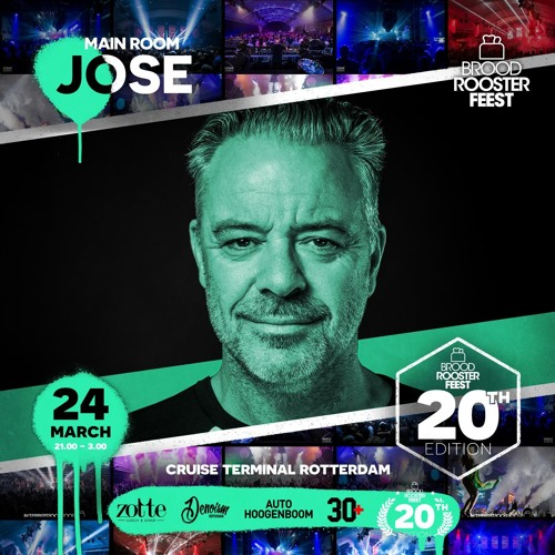 DJ JOSE Live DJ Set @ Broodrooster 24-03-2018 download link in comments.