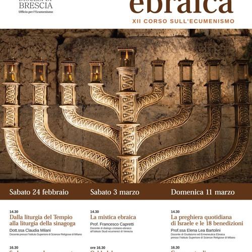 XII Corso sull'ecumenismo_spiritualità ebraica