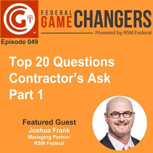 Ep 049: Top 20 Questions Contractors Ask - Part 1