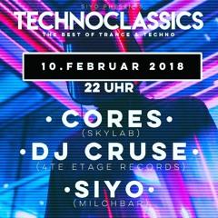 SIYO @ Techno Classics Milchbar 10.02.2018