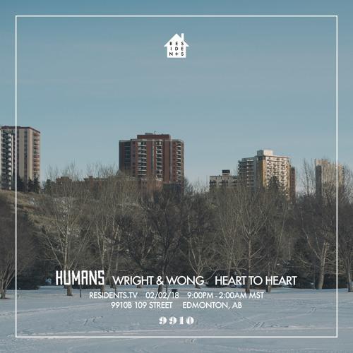 Humans Live @ 9910 // February 2nd 2018