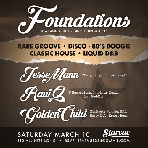 Foundations - Live at Starvue w/Raw Q & Golden Child - 3/10/2018