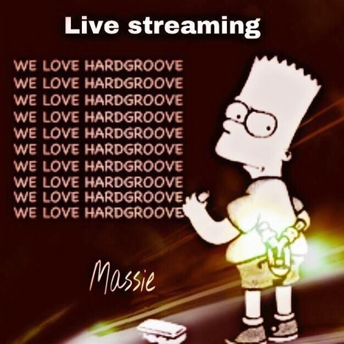 Massie @ Facebook livestreaming Hardgroove Essentials Vinyl  Video Megamix session 25 March 2018