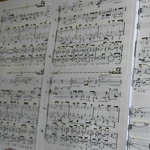 Von Der Liebe Zur Linie III - for ensemble