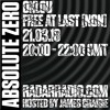 Absolute Zero w/ Oklou & Free At Last (NON Worldwide) - 21st March 2018