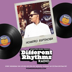 Different Rhythms Radio Episode #26 w/ Homero Espinosa