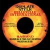 """Barbés.D ft Ras Mykha  side B  Walker ina di Town + Dub, 10"""" Dubplate Style Belleville International"""