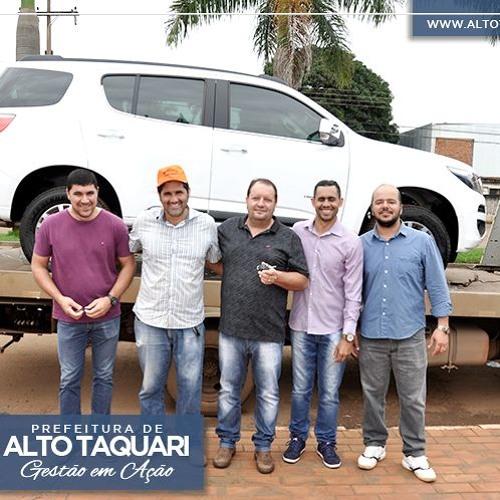 Entrevista - Prefeito Fabio Garbugio - Entrega de Chevrolet Trailblazer