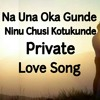 Na Unna Okka Gunde Ninu Chusi Kottukunde Private Love Song