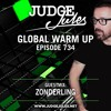 Judge Jules & Zonderling - Global Warmup 734 2018-03-30 Artwork