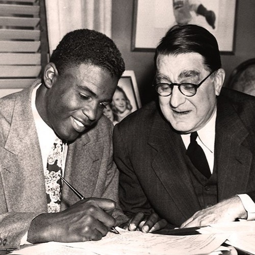 Jackie Robinson Interviews Branch Rickey in 1960