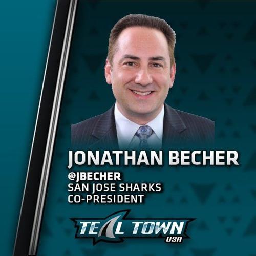 Interview: Jonathan Becher - San Jose Sharks Co-President