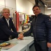 2018 - 03 - 31 Sportwethouder Paul Dirkse En Wijnand Sloos Op De Sluitingsdag Van De Winkel