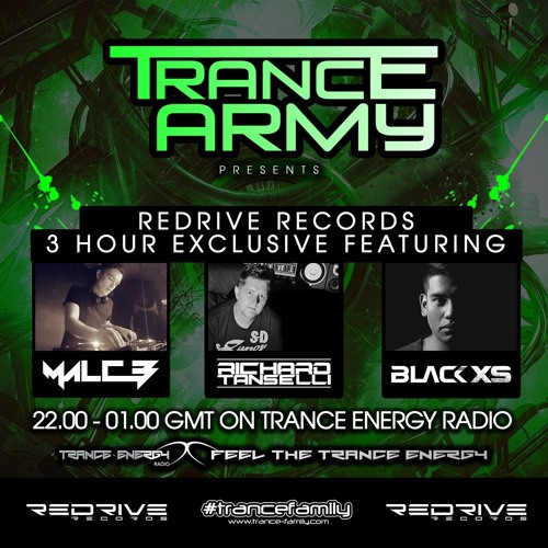 Trance Army pres. ReDrive Records 3 Hour Exclusive [Richard Tanselli Mix]