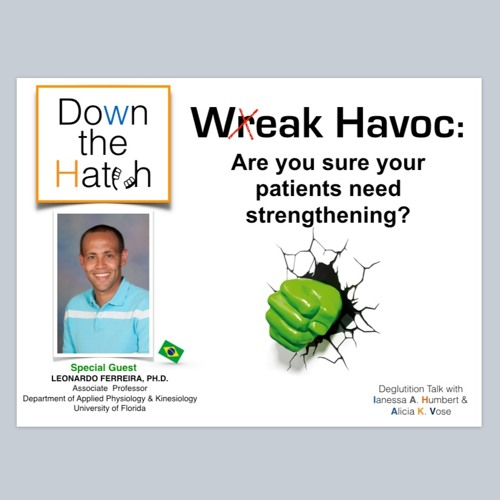 Wreak Havoc: Are you sure your dysphagic patients need strengthening?