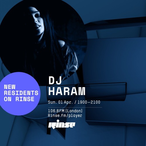 DJ Haram with Ice Cream Social - 1st April 2018