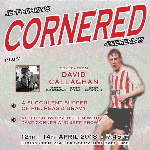 BBC Radio Newcastle with Steffen Peddie, talking about Cornered by Jeff Brown