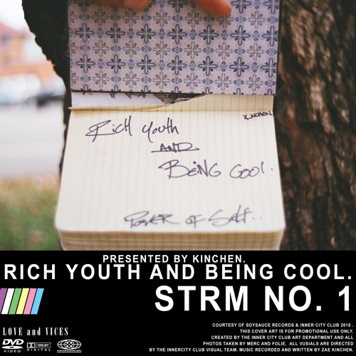 Rich Youth and Being Cool. STRM No. 01