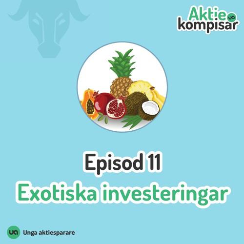 Episod 11 - Exotiska investeringar