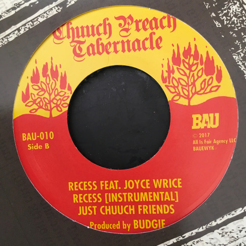 Budgie - Recess Feat. Joyce Wrice