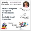 Personal Development Via Top Book Recommendations, How To Fit Essante Organics Into Your Busy Life