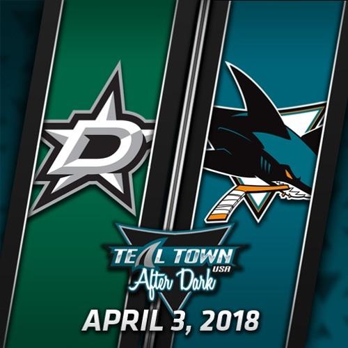 Teal Town USA After Dark (Postgame) Sharks vs Stars - 4-3-2018
