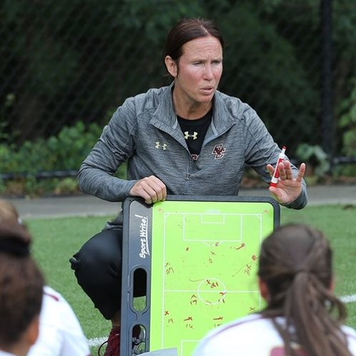 Alison Foley, Boston College coach, co-authors new book