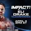 Impact Wrestling Media Call feat. Eli Drake