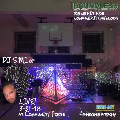 DJ SMI of AFROHEAT! live at Boundless Benifit Party
