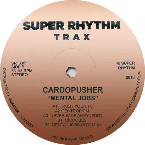 PREMIERE : Cardopusher - Geotropism
