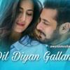 Dil Diyan Gallan Song Lyrics - Atif Aslam (DJ KUNAL VIBES REMIIX 2K18)