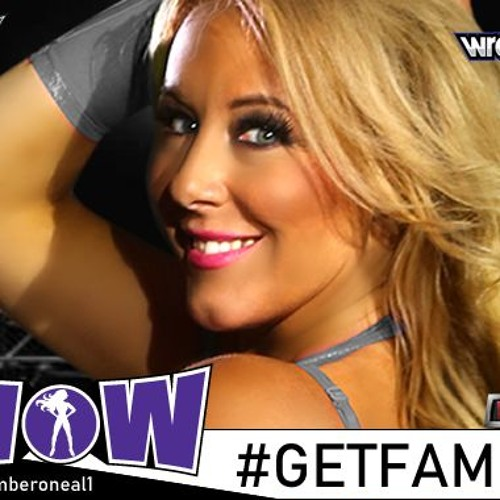 WOW Superhero - Beverly Hills Babe - Amber O'Neal EXCLUSIVE WRESTLECON INTERVEIEW